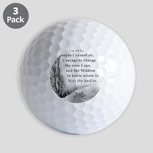 2-TWUSTED SERENITY Golf Balls
