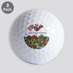 1968 Childrens Book Week Golf Balls