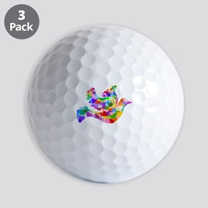 Dove of Hearts Golf Balls