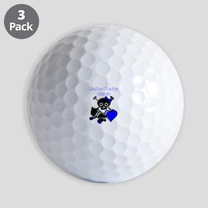Roller Derby Chick Golf Ball