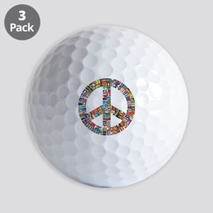 Peace to All Nations Golf Balls