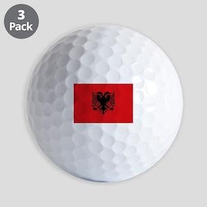 Albanian flag Golf Balls