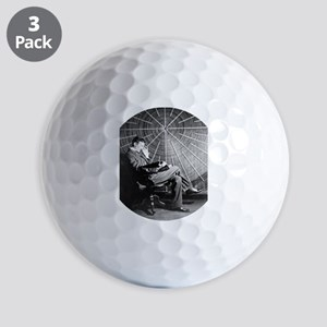 nicola tesla Golf Ball