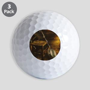Banjo Picture Larger Golf Balls