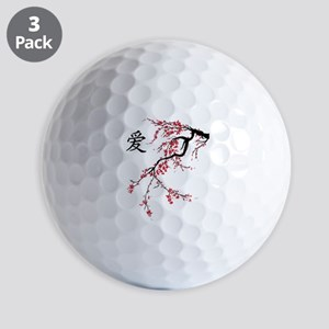 Cherry Blossom Golf Balls