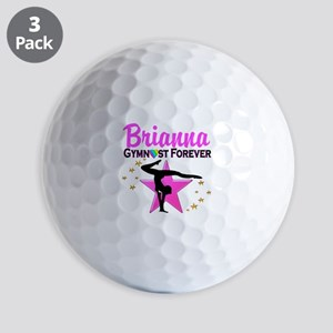GYMNAST FOREVER Golf Balls