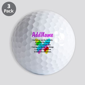 SERENITY PRAYER Golf Balls