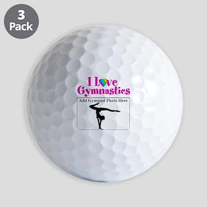 GYMNAST LOVE Golf Balls