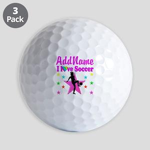 SOCCER PLAYER Golf Balls
