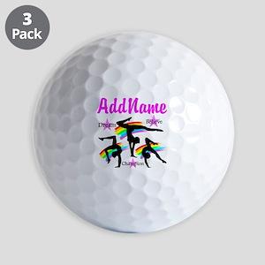 GYMNAST QUEEN Golf Balls