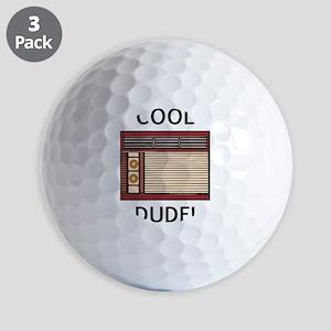 cool dude Golf Balls
