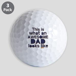 Awesome Dad Golf Balls