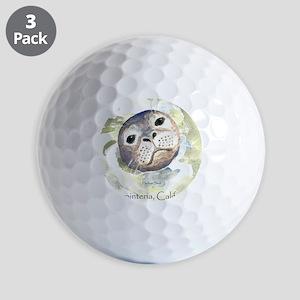 Harbor Seal Golf Balls