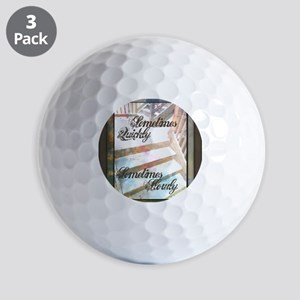 Sometimes Quickly, Sometimes Slowly Golf Balls