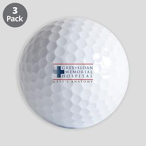 Grey Sloan Memorial Hospital Golf Balls