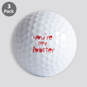 My Lobster Golf Balls