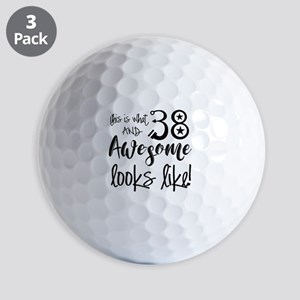 Awesome 38 Years Old Golf Balls