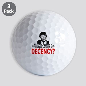 TRUMP NO Sense of Decency Golf Balls