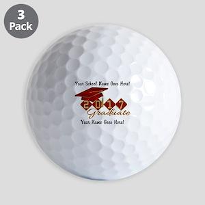 Graduate Red 2017 Golf Balls