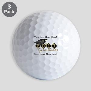 Graduate Black 2017 Golf Balls