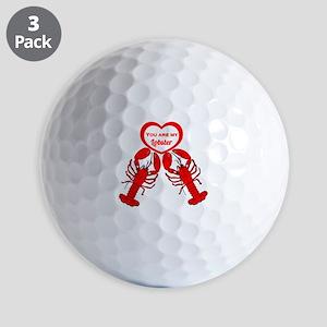 Friends Lobster Golf Balls