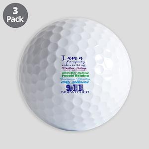 911 Dispatch Ball Golf Balls