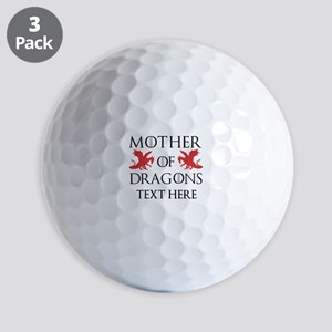 Mother of Dragons Personalizd Golf Balls