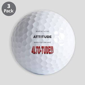 Alto-tude!!! Golf Balls