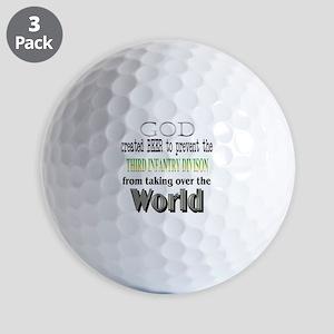 3Rd ID, God &Amp; Beer Golf Balls