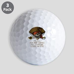 Its All Fun & Games Golf Balls