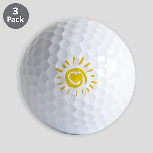 Sun Golf Balls