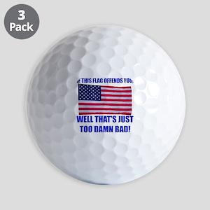 Flag3a Golf Balls