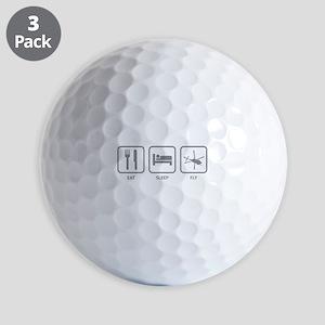 Eat Sleep Fly Golf Balls