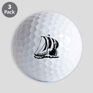Viking Ship Golf Balls