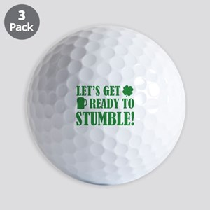 Let's get ready to stumble! Golf Balls