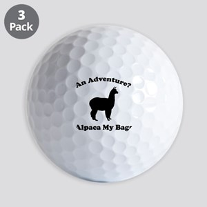 An Adventure? Alpaca My Bags Golf Balls
