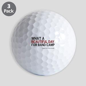 Band Camp Golf Balls