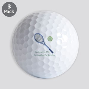 Personalized Tennis Golf Balls