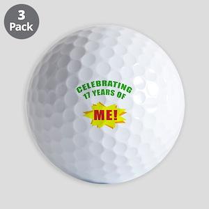 Celebrating Me! 17th Birthday Golf Balls