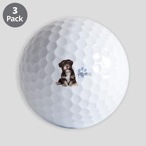 Havanese Puppy Golf Balls