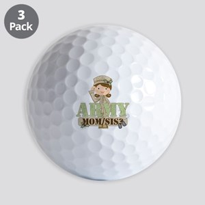 Christmas Army Soldier Golf Balls
