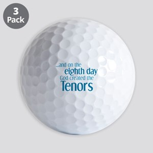 Tenor Creation Golf Balls