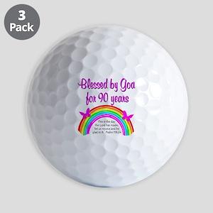 PRECIOUS 90TH Golf Balls