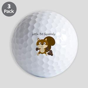 Squirrely Golf Balls