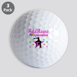 GYMNAST GIRL Golf Balls