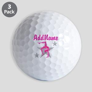 GORGEOUS GYMNAST Golf Balls