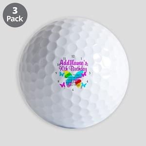 BLESSED 90TH Golf Balls