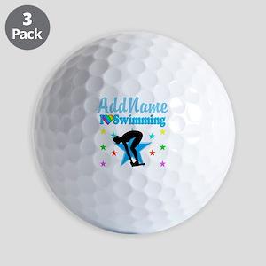 SWIM TEAM Golf Balls