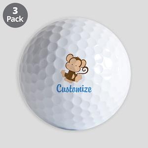 Custom Monkey Golf Balls