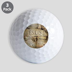 Names of Jesus Christ Golf Balls